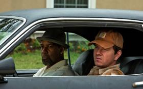 Обои кепка, актеры, мужики, Марк Уолберг, Stig, Mark Wahlberg, Denzel Washington