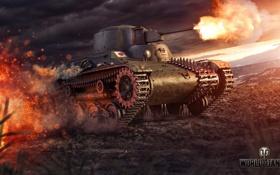 Картинка Япония, танк, Japan, танки, WoT, Мир танков, tank