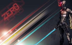 Картинка меч, воин, game, assassin, Borderlands 2, zero