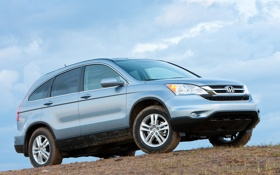 Обои внедорожник, Honda, хонда, универсал, CR-V