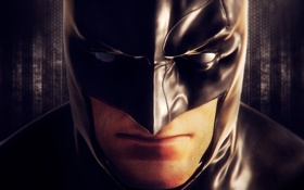 Обои лицо, batman, маска