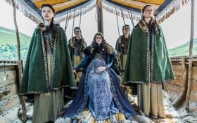 Картинка сериал, исторический, Vikings, Викинги, Alyssa Sutherland, Aslaug