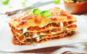 Обои food, italy, meat, meal, tasty, pasta, healty