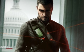 Картинка conviction, Splinter Cell, sam fisher