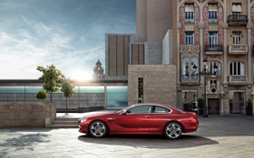 Обои BMW6series, Cuope, Vermillion