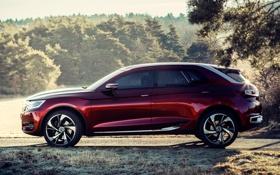 Картинка Concept, Citroën, концепт, вид сбоку, Сетроен, Wild Rubis