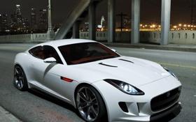Обои Concept, белый, Jaguar, ягуар, C-X16