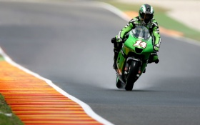 Картинка Kawasaki, мото обои, 1920x1200 wallpapers, MOTO GP RACE Mugello