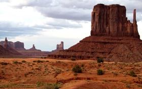 Обои фото, скалы, пустыня, пейзажи, америка, сша, штаты