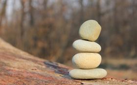 Обои камни, минимализм, дзен, равновесие