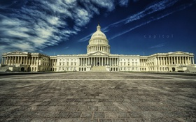 Картинка город, United States Congress, Washington