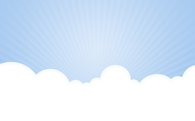 Картинка небо, фон, облако