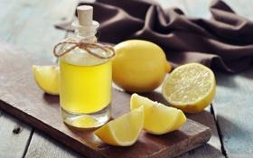 Обои фрукты, лимон, цитрус, сок
