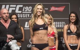 Обои Mixed, Ronda Rousey, MMA UFC