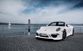 Картинка 911, Porsche, кабриолет, 2012, порше, каррера, TechArt