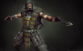 Обои радиация, Mortal Kombat, scorpion