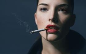 Картинка девушка, сигарета, Nathalie