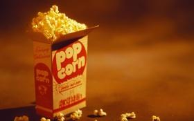 Картинка пакет, pop, corn