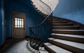 Обои фон, стены, лестница