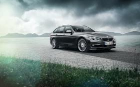 Обои бмв, BMW, Alpina, F31, 2015, 3-Series