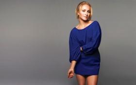 Картинка платье, Hayden Panettiere, актриса, блондинка