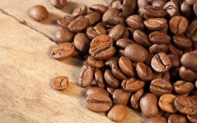 Картинка макро, кофе, зерна, macro, beans, coffee