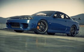 Обои S15, Silvia, Nissan