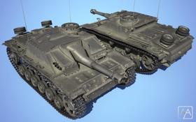 Картинка Германия, танк, танки, Germany, WoT, Мир танков, tank