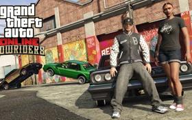 Обои тачки, cars, GTA Online, Лоурайдеры