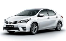 Картинка Toyota, тойота, королла, 2013, Corolla, Altis