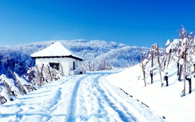 Обои Природа, Зима, Снег, сугробы, Пейзаж, погода, wallpapers