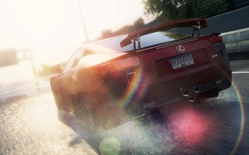 Обои Lexus LF-A, NFS, 2012, Автомобиль Most Wanted 2, Most Wanted 2