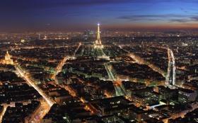 Картинка город, Франция, Париж