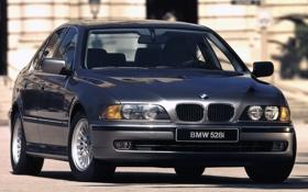 Обои car, авто, BMW, wallpapers, передок, E39, Sedan