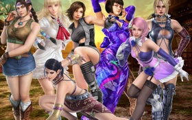 Картинка girls, asuka, nina, anna, tekken, tekken girls