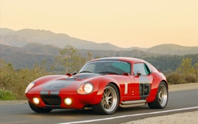 Обои shelby, auto, coupe, daytona, le mans, edition by exotic, restoration