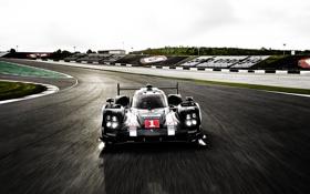 Обои Hybrid, суперкар, Porsche, 919, трек, порше