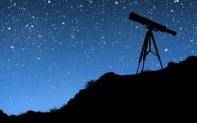Обои небо, трава, ночь, настроение, романтика, настроения, небеса