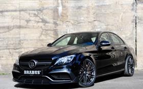 Картинка Mercedes, Brabus, мерседес, AMG, брабус, амг, C 63