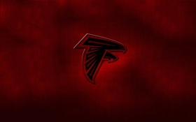 Обои logo, atlanta falcons, nfl, team