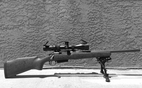 Обои винтовка, фон, снайперская, оптика, Remington 700, сошка