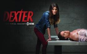 Картинка девушка, фильм, мужчина, Dexter