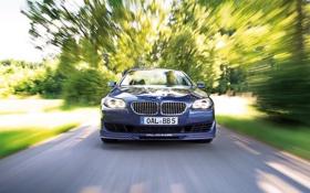Картинка дорога, скорость, автомобиль, bmw m5