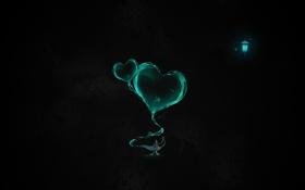 Обои фон, лампа, текстура, сердца, фонарь, дым.форма, аладина
