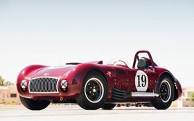 Обои Roadster, Pontiac, 1947, Legends, Kurtis, 500SX