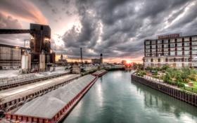 Картинка Чикаго, Иллинойс, Chicago, Illinois, usa