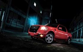 Обои машина, car, 2010, ford explorer sport, форд