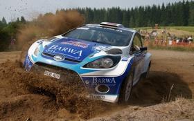 Обои racing, auto, rally, Fiesta S2000