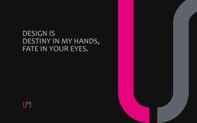 Обои линии, надпись, минимализм, слова, design