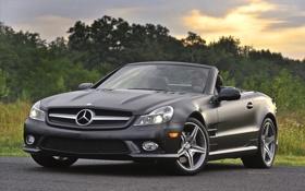 Обои машины, фото, чёрный, тачки, Mercedes, авто обои, мерседесы